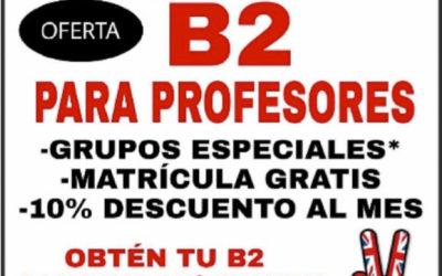B2 PARA PROFESORES